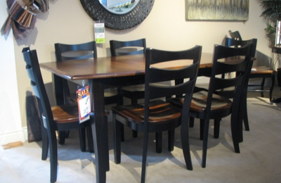 Vandenberg U0026 Sons Furniture Inc   Schoolcraft, MI. Contemporary Amish  Dining Group From Ohio