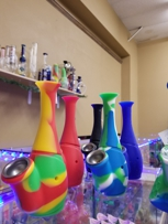 Waxmaid silicone pipes are available at #highglasssmokeshop