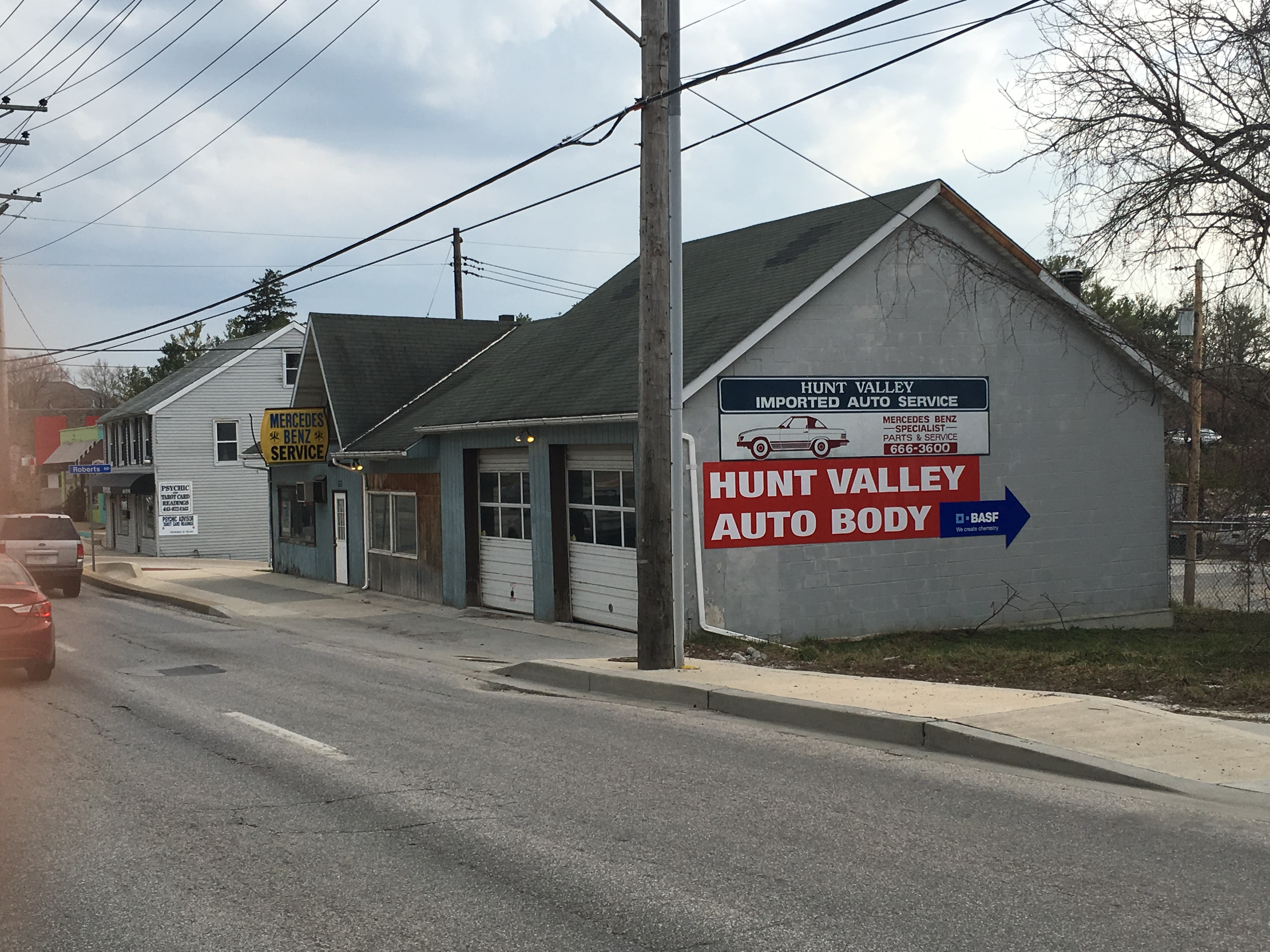 Hunt Valley Auto Body Inc Roberts Private Rd Cockeysville MD