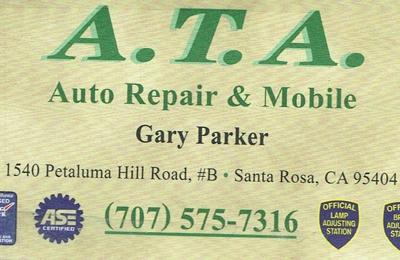ATA Auto Repair - Santa Rosa, CA