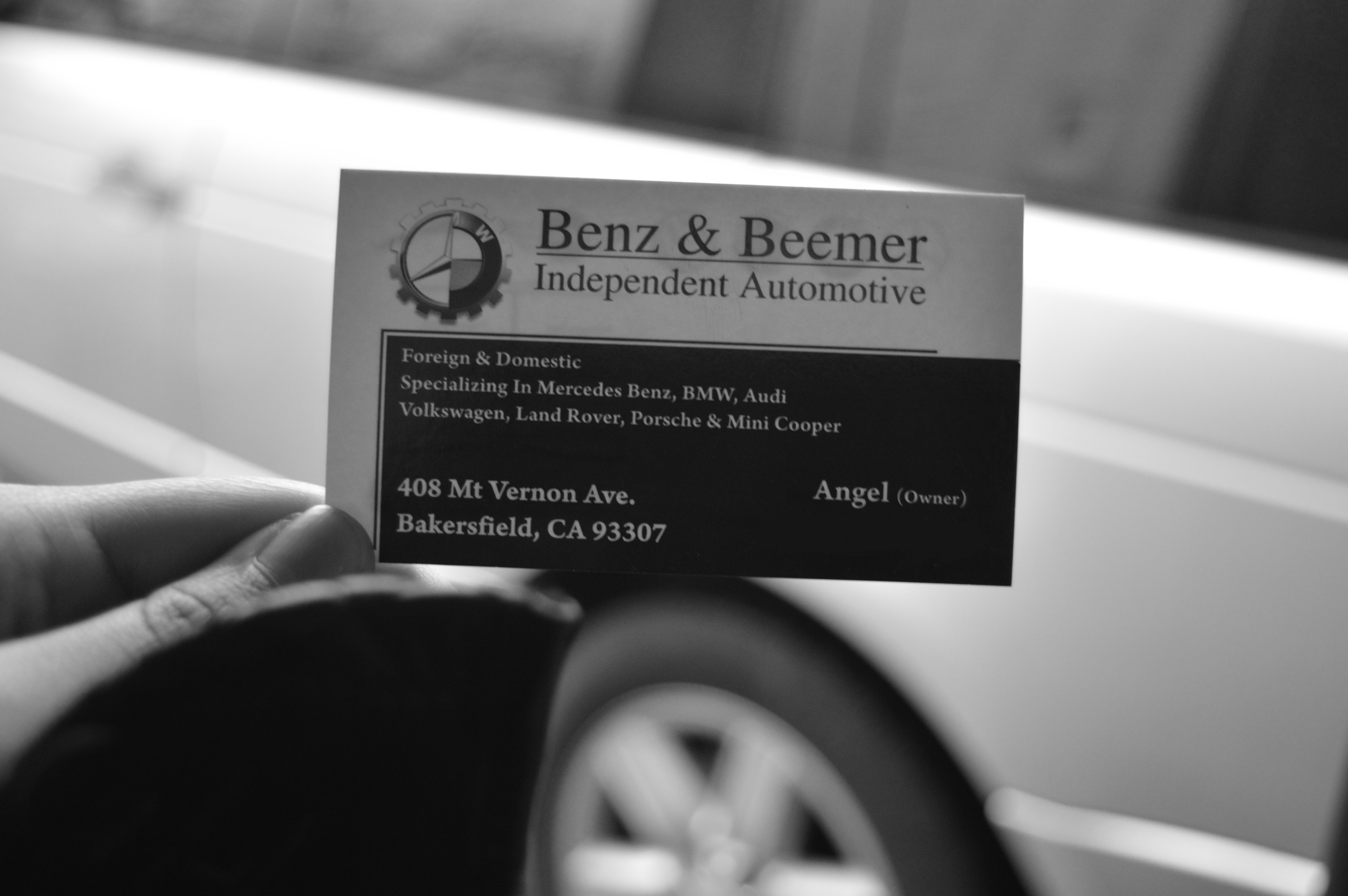 Benz Beemer Independent Automotive 408 Mount Vernon Ave