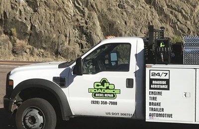 Cj's roadside and diesel repair - Show Low, AZ. Fast honest service give us a call