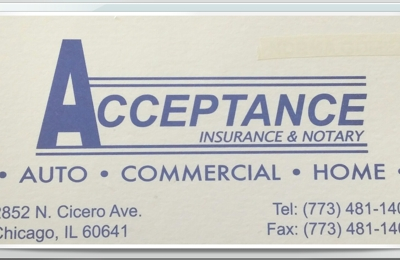 Acceptance Insurance & Notary Services - Chicago, IL