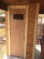Another project that I do. No job is too small. Call 325-812-5403 for your projects.