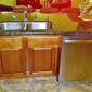 Shepherds Construction - Phoenix, AZ. Recessed sink cabinet