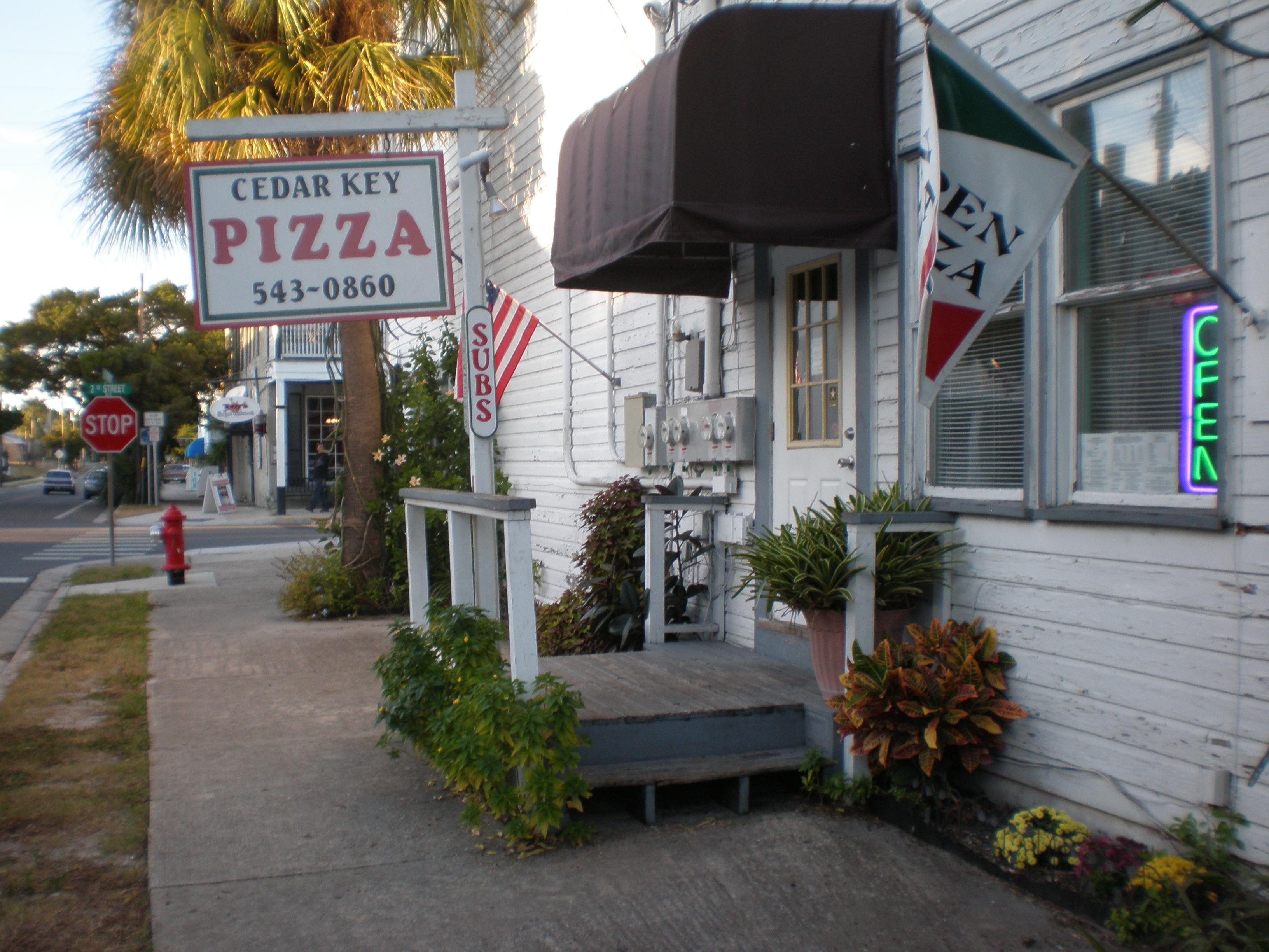Cedar Key Pizza, Cedar Key FL
