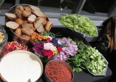 Durden's Catering LLC - Detroit, MI. Salad Bar