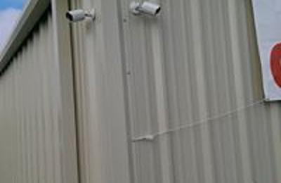 Hwy 51 Mini Storage - Dyersburg, TN. Security cameras outside.