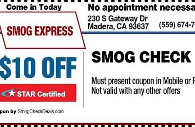 Smog Express - Madera, CA