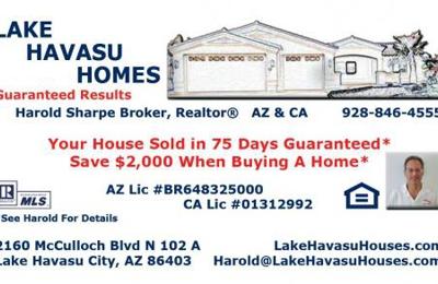 Lake Havasu Homes - Lake Havasu City, AZ