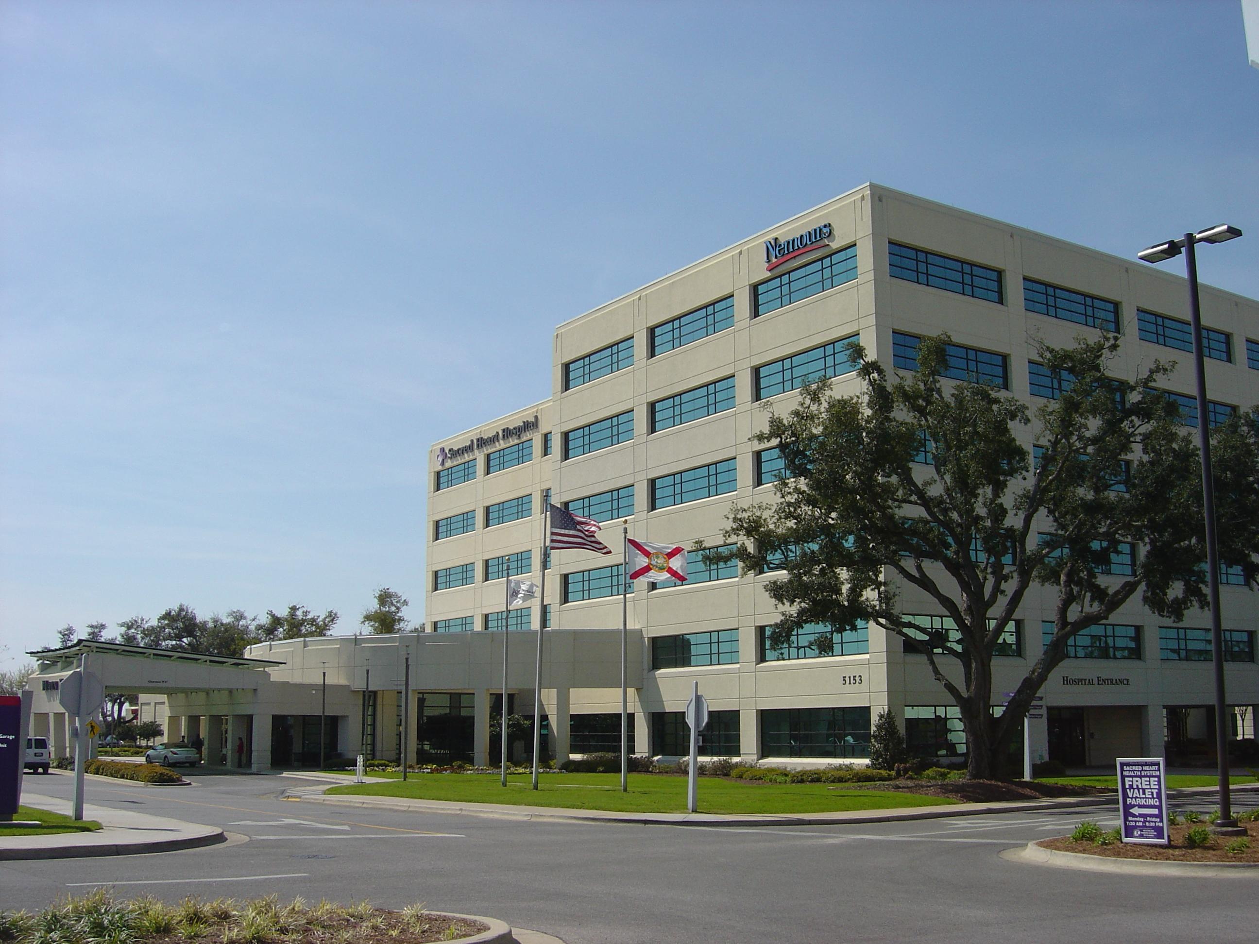 SACRED HEART HOSPITAL 5151 N 9th Ave, Pensacola, FL 32504