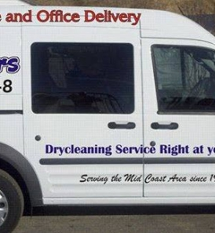 J & J Cleaners - Brunswick, ME. J & J Cleaners Van