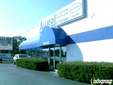 Allied Air Conditioning Amp Heating 500 E Northwest Hwy