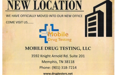 Mobile Drug Testing - Memphis, TN