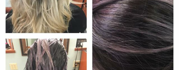 Before and After - Dusty Lavendar