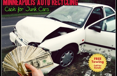 Minneapolis Auto Recycling & Cash for Junk Cars - Minneapolis, MN