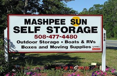 Mash Sun Self Storage Ma Sign On Rt 28
