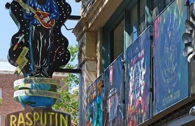 Rasputin Music - San Francisco, CA. San Francisco Rasputin on Powell St.