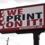 We Print On It
