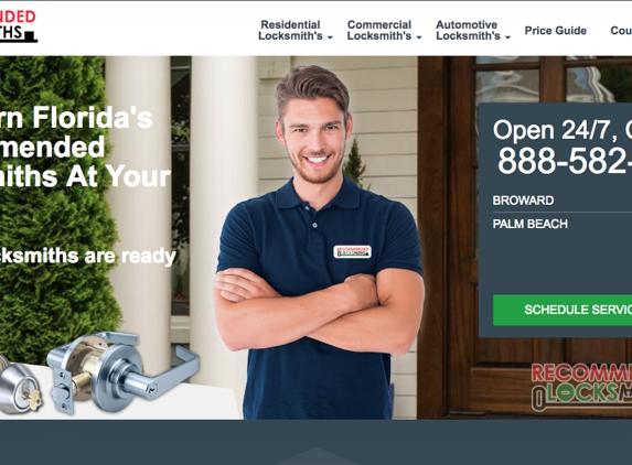 Recommended Locksmiths - Hallandale Beach, FL