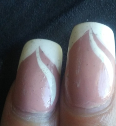 California Nails - Harrisonburg, VA. This is how all my nails looked after a week.
