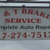 T & T Brake Service Inc