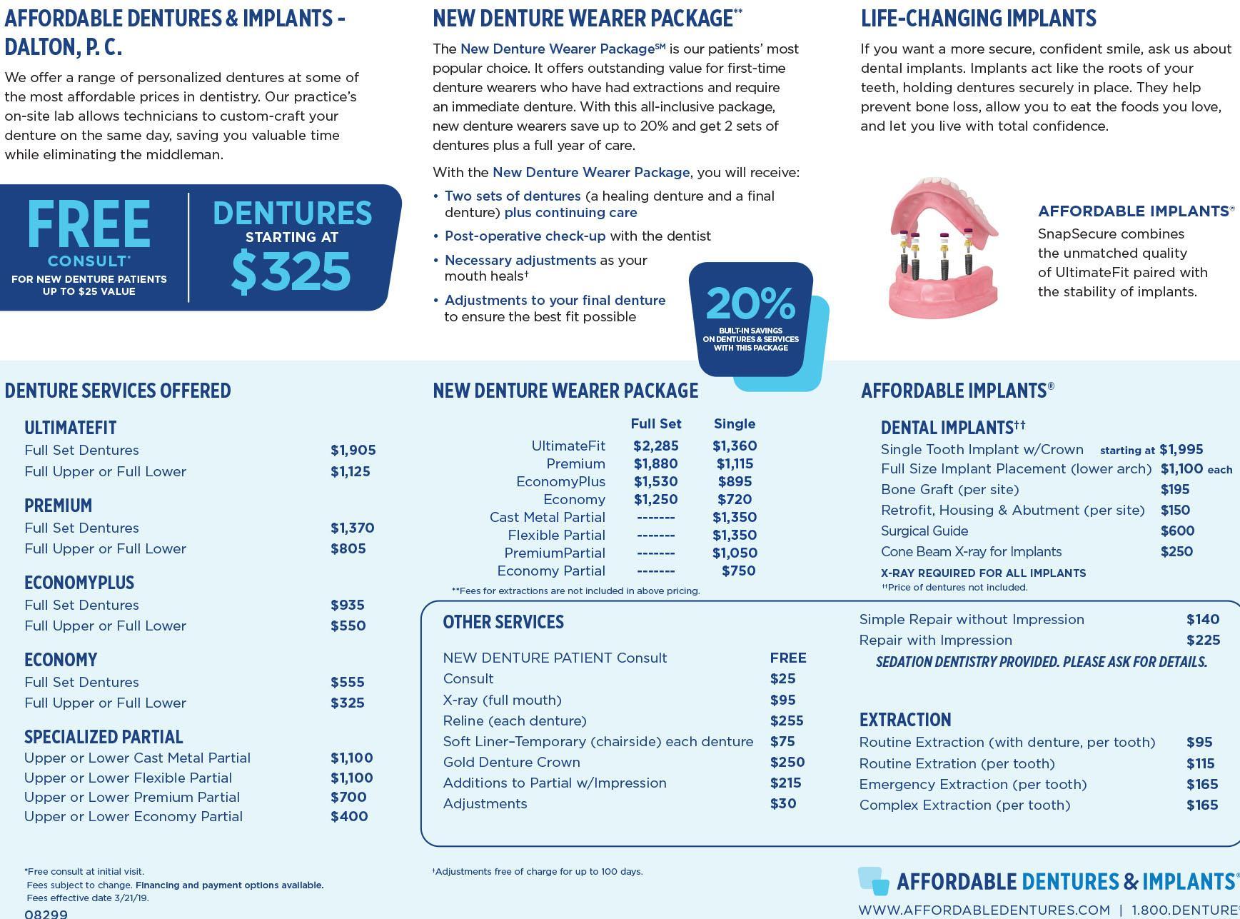 Affordable Dentures 1513 W Walnut Ave, Dalton, GA 30720 ...
