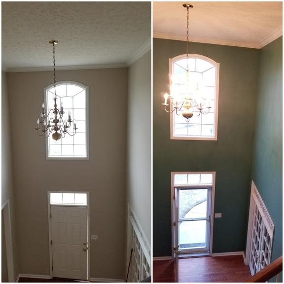 Jose's painting and Handyman services - Cincinnati, OH. Interior painting