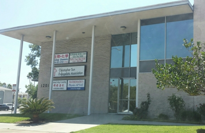 Potenza College Consulting - Arcadia, CA. Outside, shares building with other businesses.