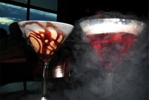Liquid Nitrogen Cocktails at Elevation Chophouse & Skybar in Kennesaw, GA