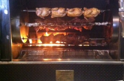 T's Mesquite Rotisserie - Incline Village, NV. Chicken & Tri-tip on the rotisserie!