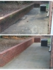 Pressure washing to clean concrete and brick surfaces. We service Newnan, Fairburn, Peachtree City, Fayetteville, Tyrone, & Atlanta Ga