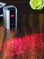 Laser Projected Keyboard and Bluetooth Speaker www.viralaccessories.net