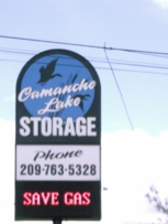 Welcome to Camanche Lake Storage