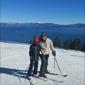 Ski Homewood - Homewood, CA. Best views of the lake up top!
