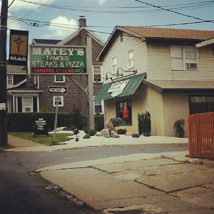 Matey's Famous Steaks & Pizza, Fountain Hill PA