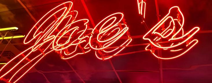 Neon lights inside