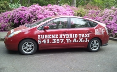 Eugene Hybrid Taxi Cabs
