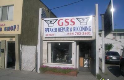 Gss Speaker Repair & Reconing - North Hollywood, CA