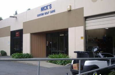 Nick's Custom Golf Cars - Benicia, CA