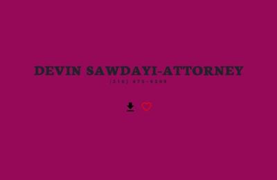Devin Sawdayi-Attorney. should i file bankruptcy