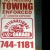 INTERNATIONAL D&S GARAGE INC.