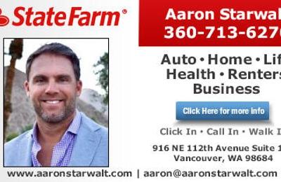 Aaron Starwalt State Farm Insurance Agent 916 Ne 112th Ave Ste