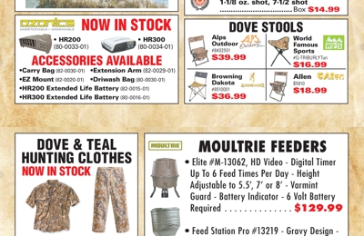 Puglia's Sporting Goods - Metairie, LA. September Ad
