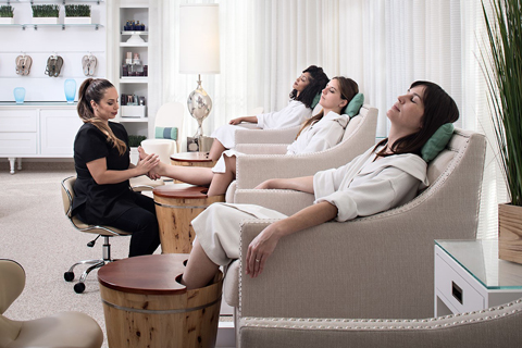 Trendy spa treatments at places like Burke-Williams