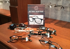 """Professional Family Eyecare - Warren, MI. New """"Detroit Heritage Eyewear"""" collection, featuring frames with well known Detroit street names like Montcalm, , Campeau, and Woodward!"""