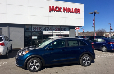 Jack Miller Kia - North Kansas City, MO. We have the All New 50mpg Kia Niro here NOW! Call to set an appointment for a test drive today, or come on by!