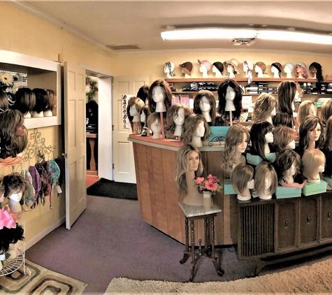 Ginny's Wigs/Plus - Gastonia, NC. So many choices