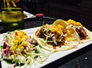 Tacos at Calle Latina in Decatur, GA