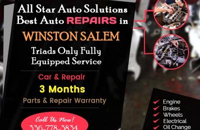 Star Auto Parts >> All Star Auto Parts Of Wintson Salem 7224 Old Lexington Rd